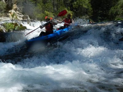 Descent by Canoe in the Alto Tajo, Section II