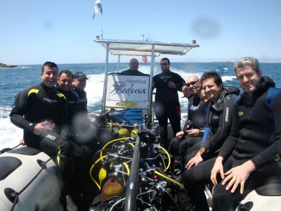 40 min diving session in Rias Baixas