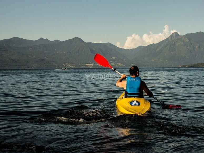 Kayak lovers