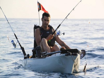 Fishing on a Kayak In Fuerteventura, Half Day