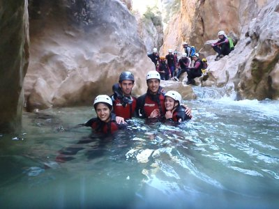 Canyoning initiation course in Huesca, 4 days