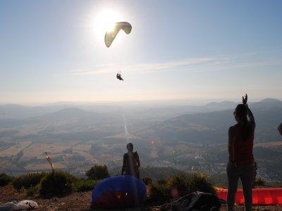 Paragliding baptism for couples, 30 mins