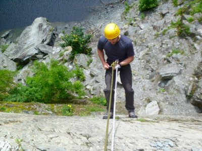 Abseiling Half day at Lake District