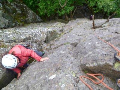 Rock Scrambling Full day at Lake District