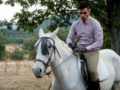 Full Moon Horse Riding Trip in Corvera + Barbecue