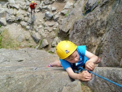 Family adventure day at Lake district
