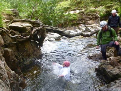 Gorge Scrambling at Lake District