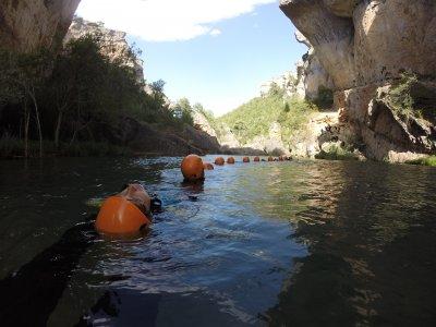 Introduction Canyoning in Ventano Diablo Rio Jucar