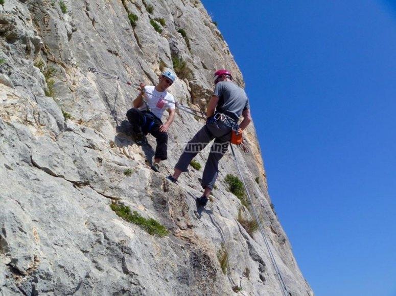 Natural climbing