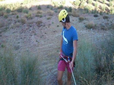 Abseiling in Cuevas Bajas 1 hour