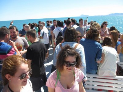 Boat party in Gandía beach during 2,5 hours