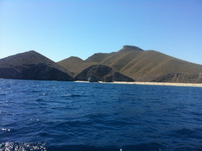 Boat trip from Carboneras to San Andrés Island