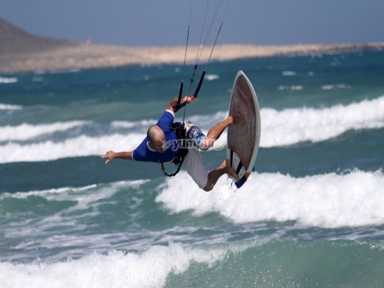 Kitesurf at Poole