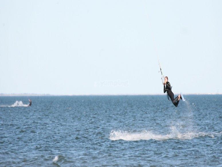 Kitesurfing in the UK