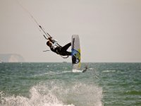 exploring poole with kitesurfing