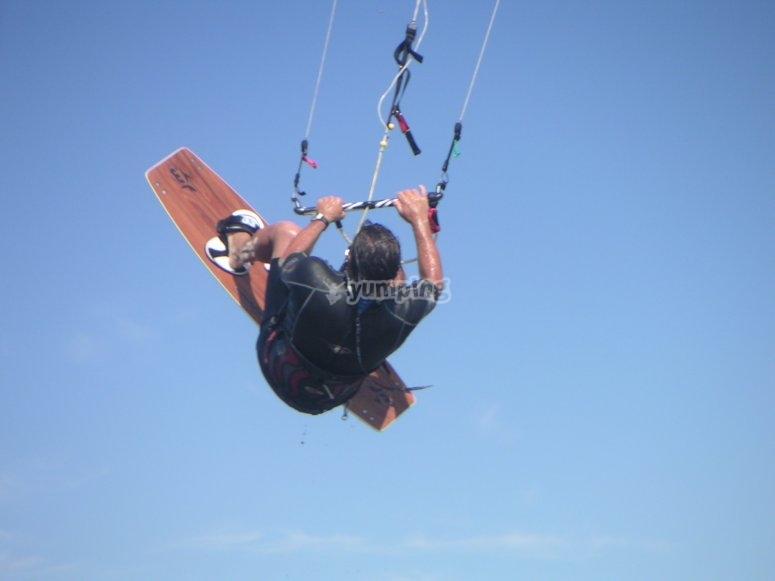 Kite at the sky