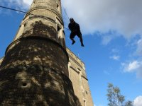 Have a go in the Casthe of Rap Jumping London!