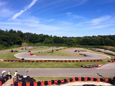 Karting practice session 30 minutes in Norfolk