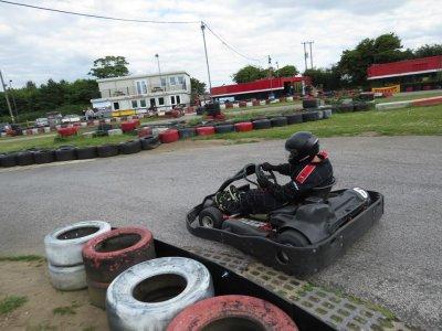 Karting practice session 60 minutes in Norfolk