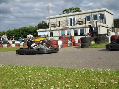 Karting practice session 75 minutes in Norfolk
