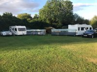 Camp in Kingsbury Water Park