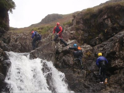 Gorge Walking at Lake District