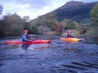 Kayaking route at Lake District