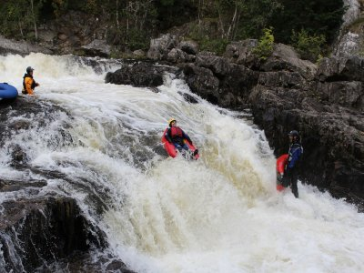 River Bugging in Perthshire