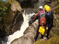 Canyoning for begginers in Aberfeldy half day
