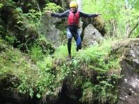 Canyoning Keltneyburn in Aberfeldy Half Day