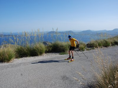 Rollerski guided tour in Pollensa