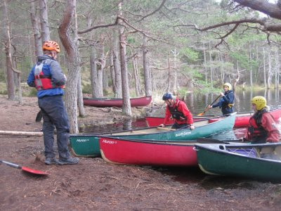 Canoeing Half Day in Moray