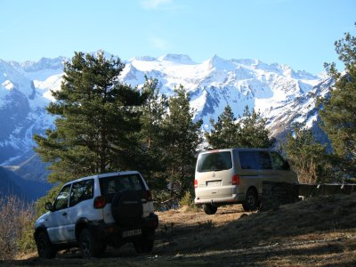 4x4 route in Vall D'Arán, 5 - 6 hours