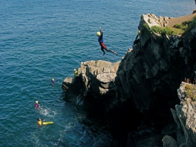 Private coasteering at Newquay