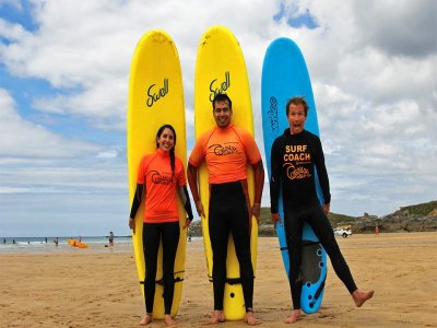 Private Surfing Lessons in Cornwall