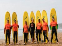 Group Surfing Lessons in Cornwall Coast