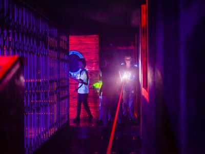 Laser Tag Game for families, Castelldefels