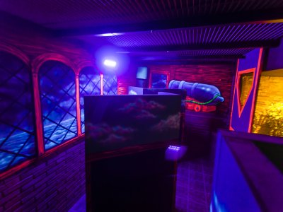 2 Laser Tag Matches in Castelldefels & Pizza Menu