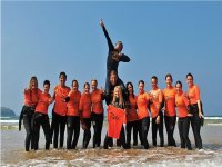 Stag do and Hen Party surfing in Newquay