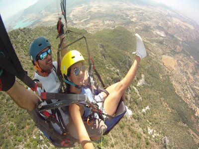 Two-man paragliding in Málaga 3 hours