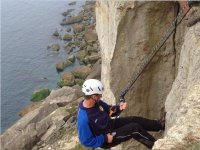 Coasteering and climbing day in Dorset