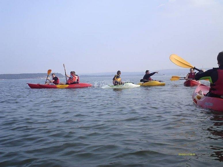 Kayaking of UK
