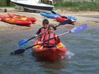 Double kayak in Dorset 1h