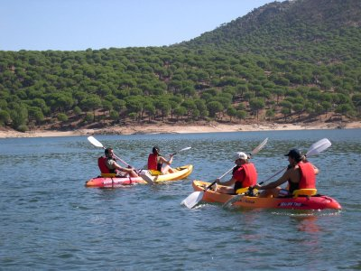 3h Kayak trip in the Reservoir of San Juan