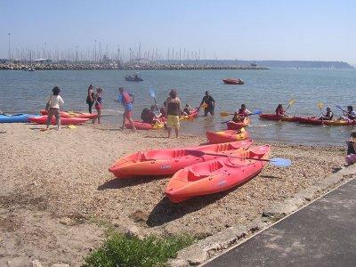 Double kayak in Dorset 2h