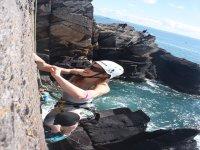 Climbing in Pembrokeshire