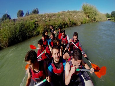 Canyoning in Almadenes & visit Monigotes Cave