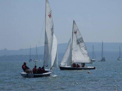 Sailing taster session for 2 in Dorset 2h