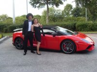 Celebrate any special event with Northern Ferrari Hire