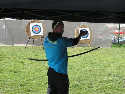 Half day of archery in Dorset